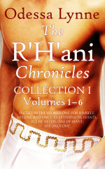 Book cover image for The R'H'ani Chronicles Collection 1: Volumes 1-6